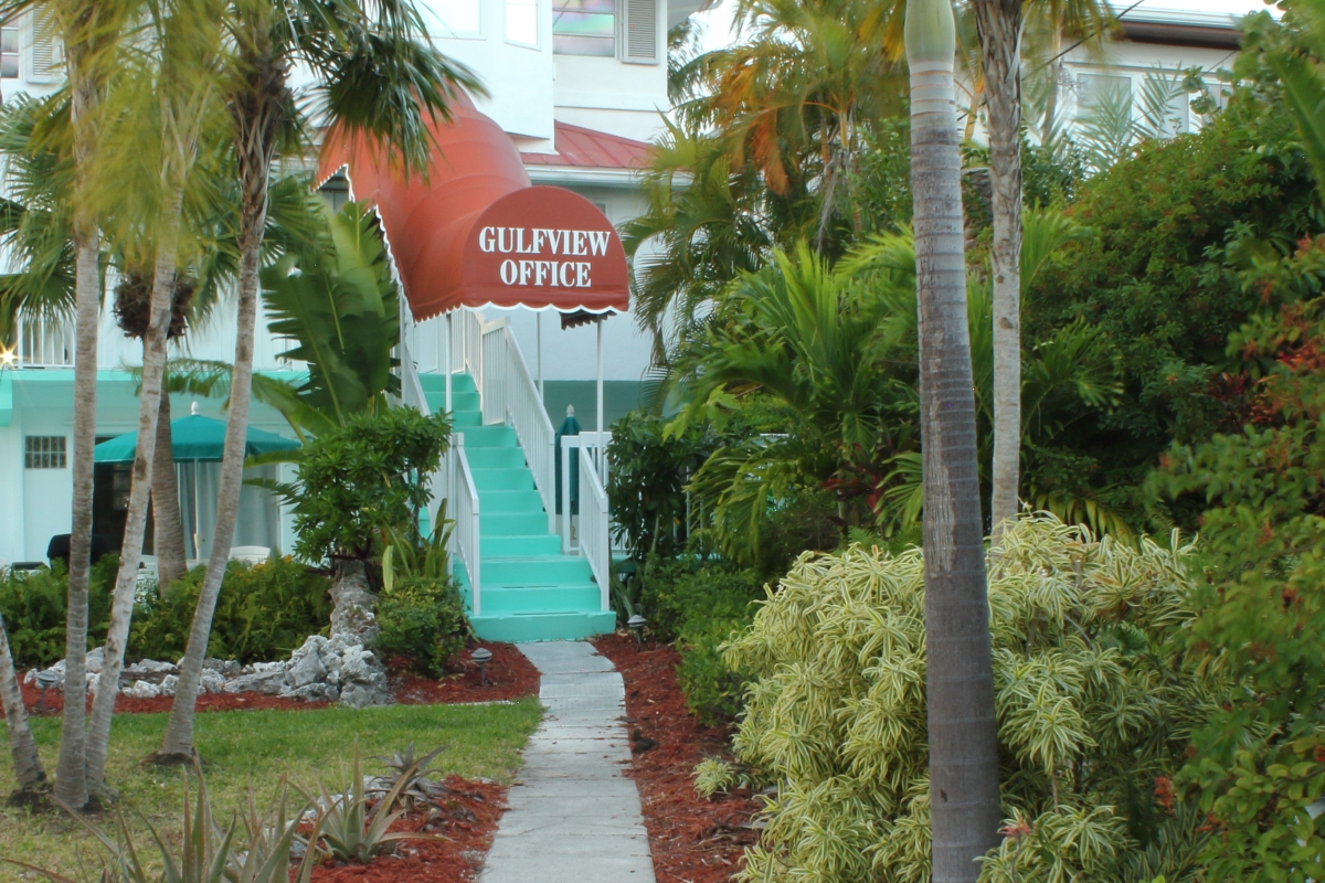 Gulf View Office Entrance