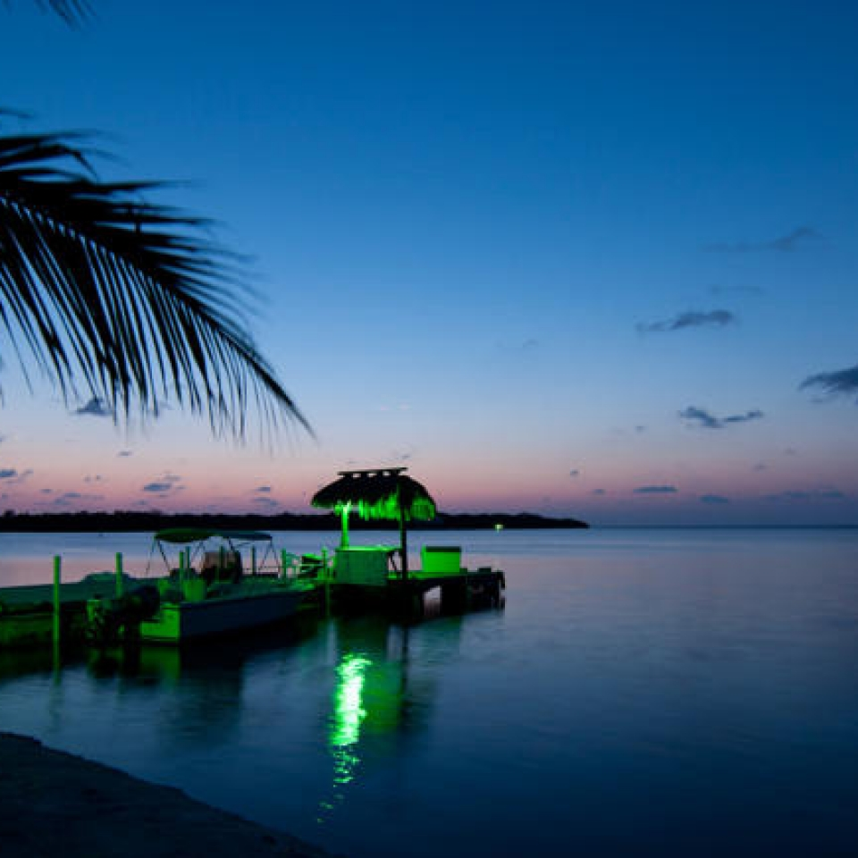 Breathtaking sunset Gulf View Waterfront Resort Marathon Florida Keys